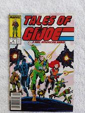 1988 Marvel Tales of GI Joe #4 Newsstand Fine