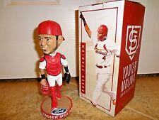 St Louis Cardinals Yadier Molina Bobblehead Yadi Busch Stadium SGA 4-8-17 Ford