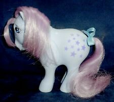 Rose: My Little Pony Vintage Concave Foot Blue Belle VERY GOOD G1