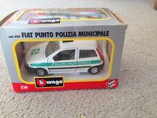 1:24 BBuragoFiatPunto Polizia Municipale0107 in box