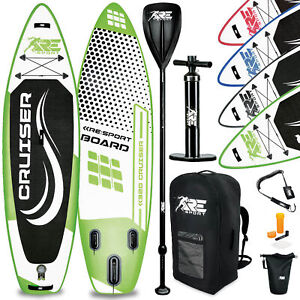 RE:SPORT® SUP Board aufblasbar Stand Up Paddle Set Surfboard Paddling ISUP