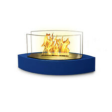 Anywhere Fireplaces Anywhere Lexington - Ethanol Fuel Fireplace Blue Gloss Paint