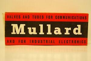 MULLARD Vacuum Tubes Valves KS9/20A - 2K25 MX148 EL34 EF37A EL85 CV3930 75CI