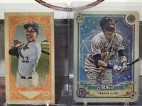 Christian Yelich 2020 Gypsy Queen Fortune Teller & Strength Tarot LOT OF 2