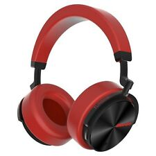 Bluedio T5 Bluetooth Cordless Headphones Stereo Active Noise Cancellation, Red