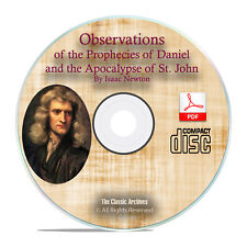 Observations on Prophecies of Daniel, Apocalypse St John-Isaac Newton PDF CD H23