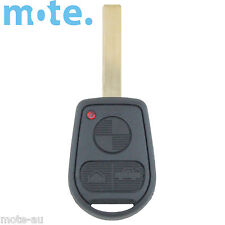 BMW 3 Button Key Remote Case/Shell/Blank 3-5-7 SERIES X3/X5/Z4/E38/E39/E46/M5/M3