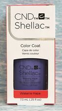CND Shellac WISTERIA HAZE Power Polish UV Gel Color~GARDEN MUSE Coll~blue purple