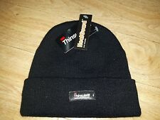 Boys Black Winter Hat , 6-9 years