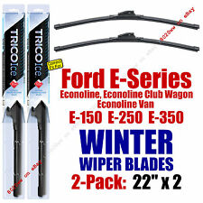 WINTER Wipers 2-Pack Premium Grade fit 1992-1997 Ford E-Series Econoline 35220x2