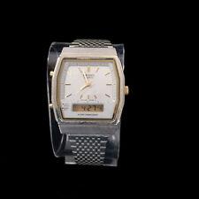 Seiko Watch Mens H601-5410 Quartz Analog Digital Alarm Chronograph Light Vintage