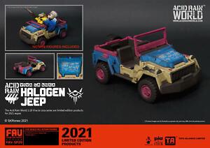 TA x Acid Rain World FAV-SP20 Viva la Loca - Halogen Jeep 1:18 Figure Accessory