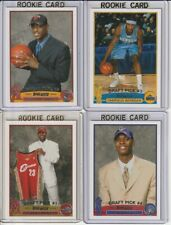 2003-04 Topps Basketball Complete Set 1-249 James, Wade, Bosh, Anthony Rookies