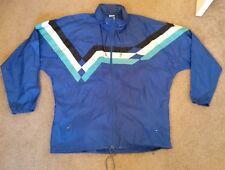 Vintage Adidas Trefoil Windbreaker Full Zip Track Jacket w/ Hoodie Medium M