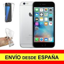 Funda Doble Transparente para IPHONE 6 PLUS Gel Silicona TPU a2279