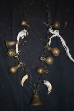 "orig $799 Nepal Shaman Necklace, Early 1900S 14"" Prov"