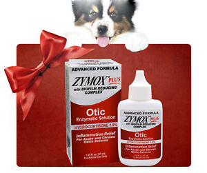 Zymo x Plus Advanced Formula Dog&Cat Ear Solution,1.25oz 100% Original US Stock