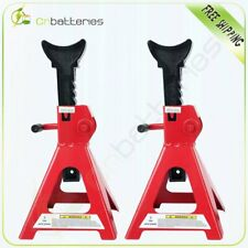 Pair Of Racing Jack Stands 3 Ton 6000 Lb Heavy Duty For Car Truck Auto Lift