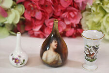 Three Miniature Vases (3) Royal Crown Derby, Herend, Royal Schwarzburg