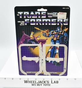 Ratbat & Frenzy Cardback 1986 Vintage Hasbro G1 Transformers Action Figure