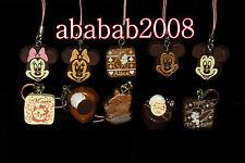 Yujin Mickey cafe sweets Chocolate strap figure gashapon set Part.5 ( 10 Pcs)