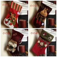 Reindeer/Snowman/Santa Christmas Stocking