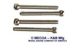 Cox 049 Babe Bee Texaco Jr. QZ  Fuel Tank Backplate Set of 4 screws 925-c6905