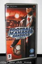 FOOTBALL MANAGER HANDHELD 2008 GIOCO USATO OTTIMO STATO PSP EDIZIONE ITALIANA PG