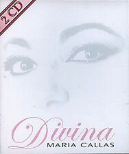 Maria Callas - Divina 2 CDs u.a aus Macbeth, La Traviata, Tosca, Medea, Parsifal