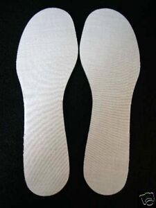 EXTRA THICK COMFY INNER SOLES FOAM PADDED SHOES SIZE 10