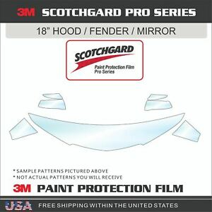 3M SCOTCHGARD PRO PAINT PROTECTION FILM CLEAR BRA FOR 16-21 TOYOTA LAND CRUISER