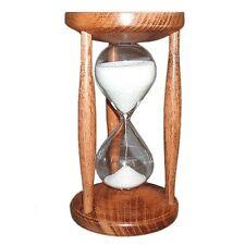 Reloj de arena RELOJ MADERA HAYA Manchado 15 Minutos Relojes de arena