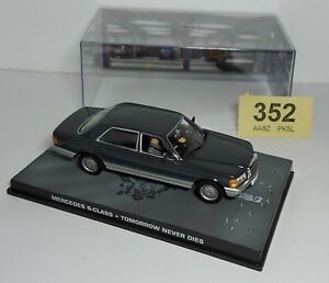 James Bond - Mercedes S class - Tomorrow Never Dies - with Case/Diorama