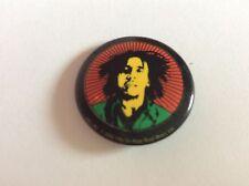 Bob Marley  Pop art design   25mm Button Badge