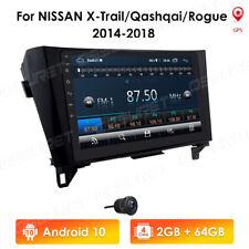 "10.1"" 64GB Car Radio Stereo Android 10 GPS for Nissan Xtrail Qashqai Rogue 2014"