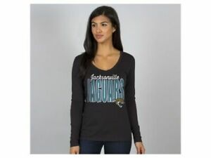 "Jacksonville Jaguars NFL Women's ""Touchdown"" Long Sleeve T-Shirt"