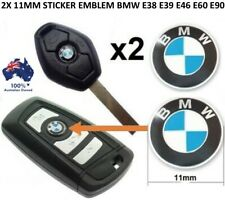 2X 11MM REPLACEMENT BMW REMOTE KEY RING DECAL FOB LOGO BADGE EMBLEM STICKERS