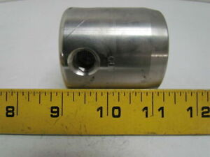 """Graco 185631 223160 Stainless Steel Filter Housing 3/8"""" NPT Inlet 1/4""""NPT Outlet"""