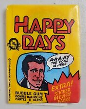 Happy Days TV Show 1976 Series 2 Yellow OPC O-Pee-Chee Canada One Sealed Pack