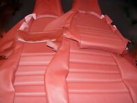 PORSCHE 911 944 951 964 968 Burgundy FRONT SEATS NEW UPHOLSTERY RECOVERY KIT SD