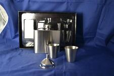 Colibri 5 oz Captive top Stainless Steel Flask Gift Set with 2 shot cups Funnel