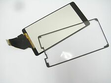 Black Lcd display+touch screen+Adhesive For Sony Xperia ZR M36h C5503 C5502 M36