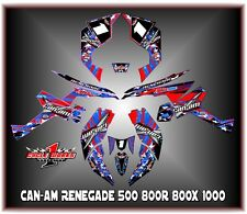 Can-Am Renegade 500 800r 800x 800xc1000  SEMI CUSTOM GRAPHICS KIT Patriot2