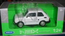 # 1/21 WELLY NEX - FIAT 126 BIANCA - MIB - NUOVO 1/24 RARA WHITE FSO BIS #
