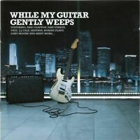 WHILE MY GUITAR GENTLY WEEPS various (2X CD compilation) classic rock, hard rock