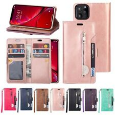 Genuine Leather Wallet Phone Cover Case For 11 Pro Max X XR Xs Max 6s 7 8 Plus
