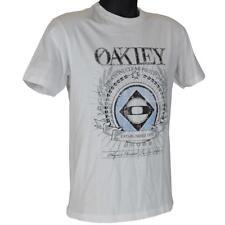 Oakley TURBINE T-Shirts Mens Size XXL White Boys Regular Fit Cotton Tee