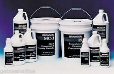Branson Aqueous Is Ultrasonic Industrial Stregth Cleaner, 55Gal/Drum 000-955-109
