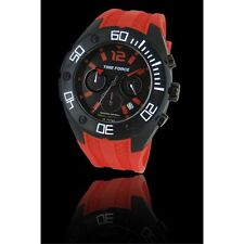 Time force TF4145M14 mens watch ANALOG CRONO montre RED & BLACK orologio RPP 99€