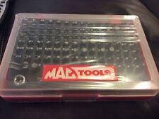 Mac Tools. 100 Bits Set. 1/4 Drive  Sealed and new  TORX Hex Screwdriver bits